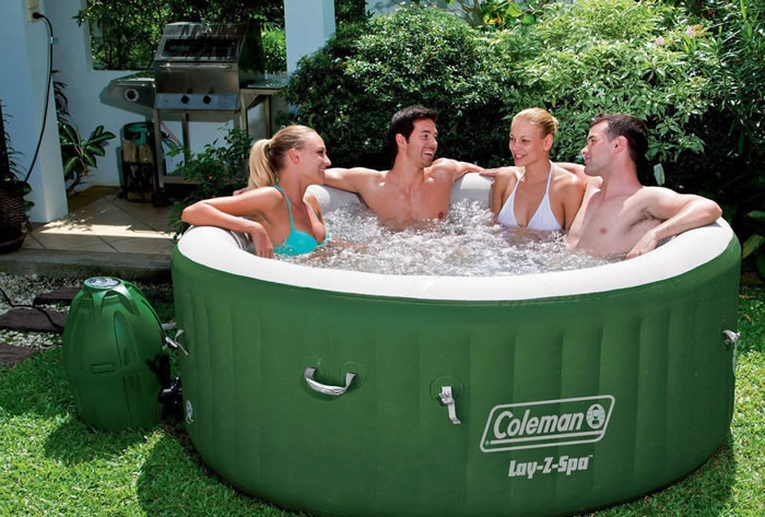 inflatable hot tubs the best 2 4 6 and 8 person. Black Bedroom Furniture Sets. Home Design Ideas